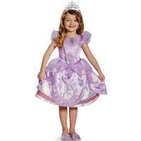 Disguise Disney Sofia the First Sofia Deluxe Toddler Costume - Purple