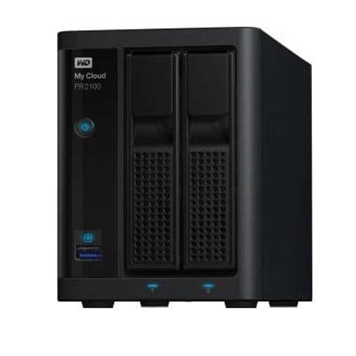 Wd Content Wdbbcl0040jbk-Nesn 4Tb Video Converter My Cloud Pro Pr2100 - Black