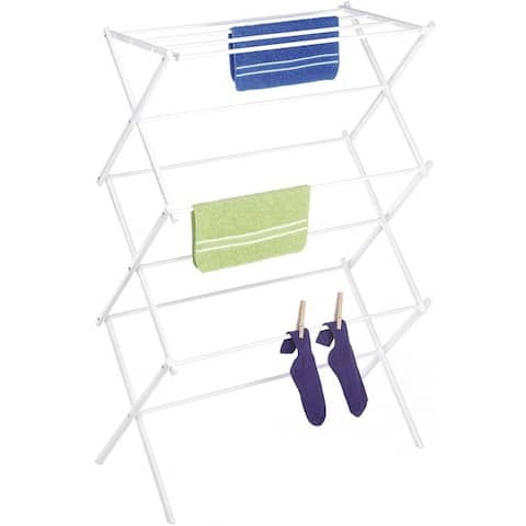 Whitmor 6023-741 folding drying rack white