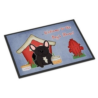 Carolines Treasures BB2763JMAT Dog House Collection French Bulldog Brindle Indoor or Outdoor Mat 24 x 0.25 x 36 in.