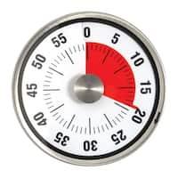 Taylor 5874 Mechanical Indicator Timer, White/Black