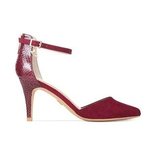 Thalia Sodi Womens VANESSA Closed Toe Ankle Strap
