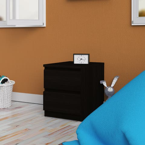 Porch & Den McKellingon Contemporary 2-drawer Nightstand