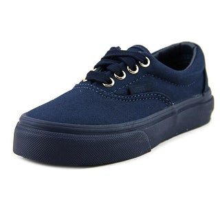 Vans Era Youth Round Toe Canvas Blue Sneakers