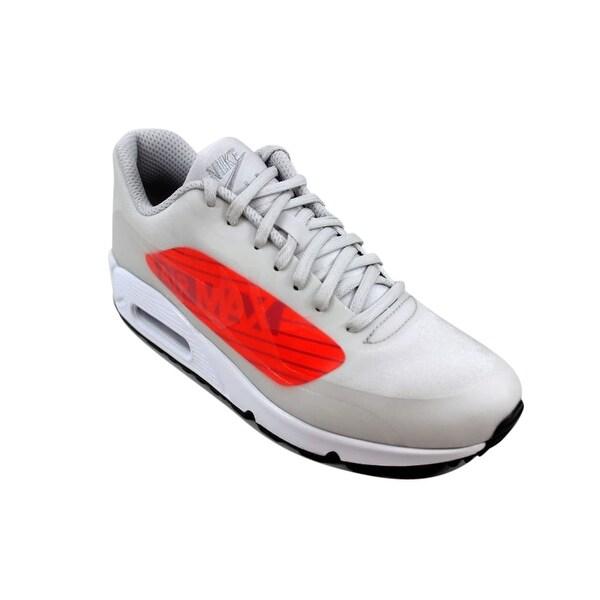 Shop Nike Air Max 90 NS GPX Neutral GreyBright Crimson Big