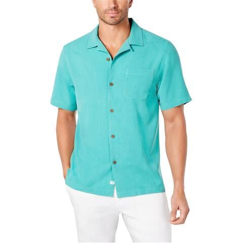Tommy Bahama Mens Weekend Tropics Silk Button Up Shirt