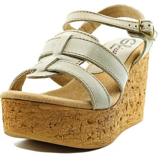 Sbicca Seacliff Women  Open Toe Leather  Wedge Sandal