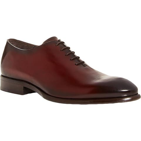 To Boot New York Mens Forte Derby Shoes Leather Lace Up - Bordo