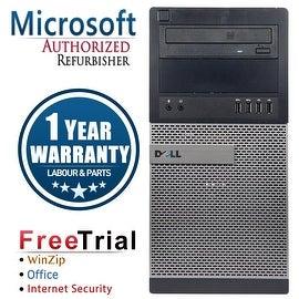 Refurbished Dell OptiPlex 9010 Tower Intel Core I7 3770 3.4G 4G DDR3 250G DVD WIN 10 Pro 64 Bits 1 Year Warranty