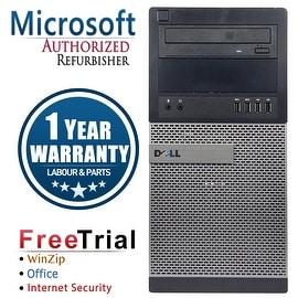 Refurbished Dell OptiPlex 9010 Tower Intel Core I7 3770 3.4G 8G DDR3 320G DVD Win 7 Pro 64 Bits 1 Year Warranty
