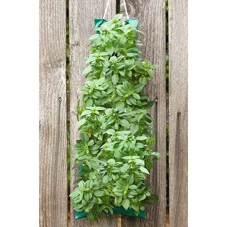 Herb Garden with Vertical Growing Bag - Grow Basil, Oregano or Parsley