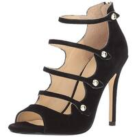 Ivanka Trump Womens Houston Leather Peep Toe Special Occasion Strappy Sandals