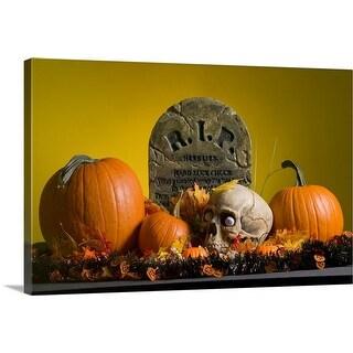 """Halloween decorations"" Canvas Wall Art"