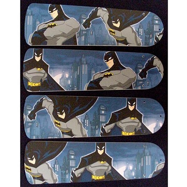 Batman Custom Designer 42in Ceiling Fan Blades Set - Multi