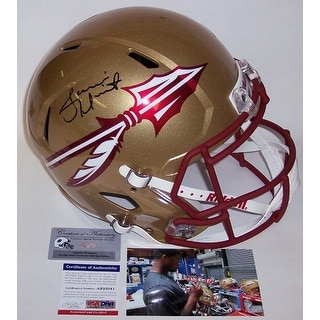 Jameis Winston Autographed Hand Signed FSU Florida State Seminoles Full Size Speed Helmet - PSA/DNA
