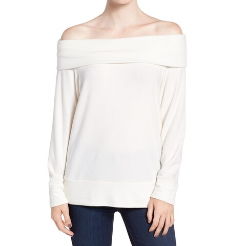 Cupcakes And Cashmere Women Off-Shoulder Sweater