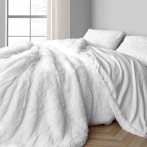 Coma Inducer Oversized Duvet Cover - Are You Kidding? - White