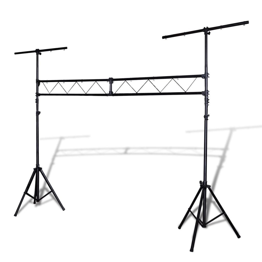 Vidaxl Portable Lighting Truss System With 2 Tripods 10 Ft