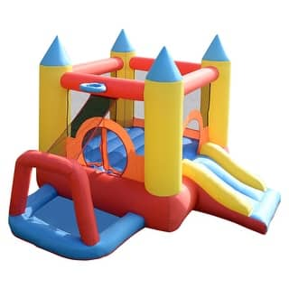 Costway Inflatable Mighty Bounce House Jumper Castle Moonwalk Without Blower|https://ak1.ostkcdn.com/images/products/is/images/direct/a3a33179e83ff6341a02bfabe8f6c3781abc2681/Costway-Inflatable-Water-Slide-Mighty-Bounce-House-Jumper-Castle-Moonwalk-Without-Blower.jpg?impolicy=medium