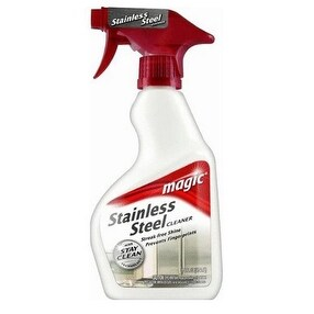 Magic 3055 Stainless Steel Cleaner, 14 oz, Trigger Spray