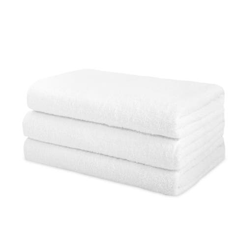 "Classic Turkish Cotton Towel Arsenal Jumbo Bath Sheet (Set of 3) - 30"" x 60"""