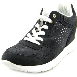 Guess Laceyy3 Women Canvas Black Fashion Sneakers
