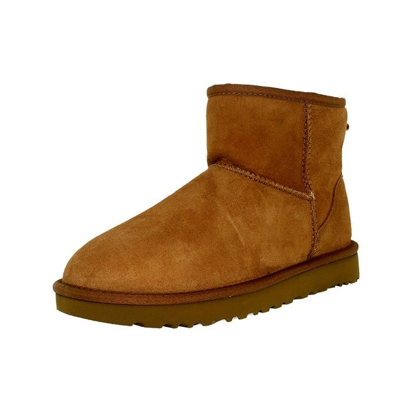 13b791f182d Shop Ugg Women's Classic Mini II Leather Ankle-High Suede Boot ...