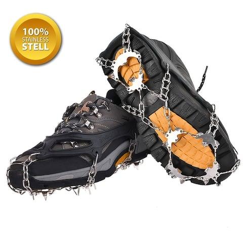 Ice Snow Crampons Anti-slip Climbing Shoe Covers Cleats
