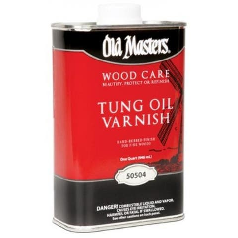 Old Masters 50504 Tung Oil Varnish 1 Qt.
