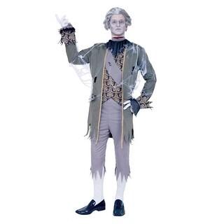 King Louis Ghost Zombie Mens Adult Halloween Costume - Medium