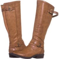 Bare Traps Womens Yalina Closed Toe Over Knee Fashion Boots