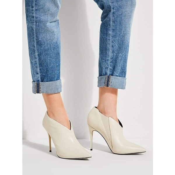 Guess Womens Ondrea Pointed Toe Ankle