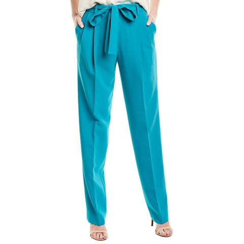 Prabal Gurung Simone Silk-Lined Trouser