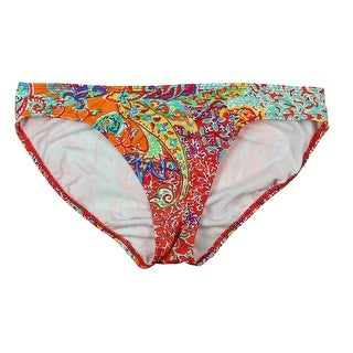 Lauren Ralph Lauren Womens Printed Stretch Swim Bottom Separates