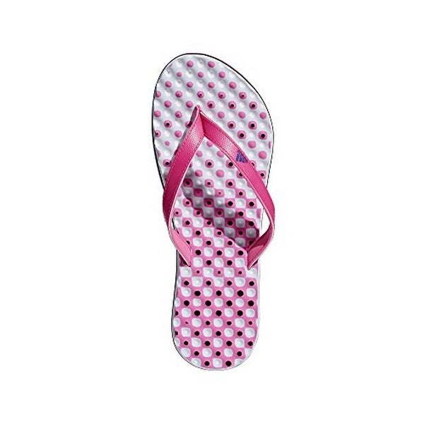online store d122e 59926 Shop Adidas Womens Eezay Flip Flop, Shock PinkCollegiate RoyalAero Blue -  On Sale - Free Shipping On Orders Over 45 - - 22897972