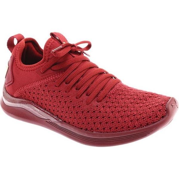 nouvelle arrivee f50f2 c416e Shop PUMA Women's IGNITE Flash Basquette Sneaker Pomegranate ...