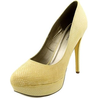 Michael Antonio Lily Open Toe Synthetic Platform Heel