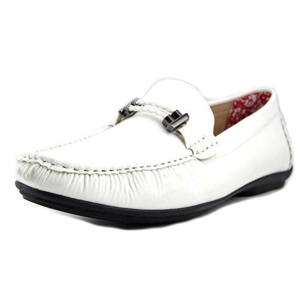 Stacy Adams Percy White Loafers