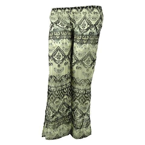 Raviya Women's Pants Cover ups - Black - L