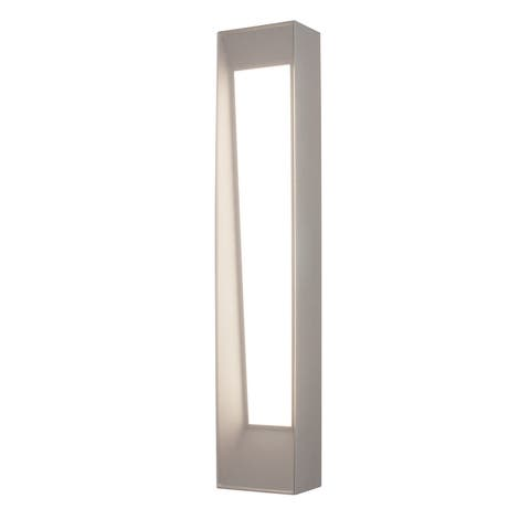 "AFX RWNW052020LAJD2 Rowan Single Light 20"" Tall LED Outdoor Wall - Textured Grey"