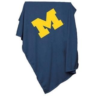 Logo Brands 171 74 Michigan Sweatshirt Blanket