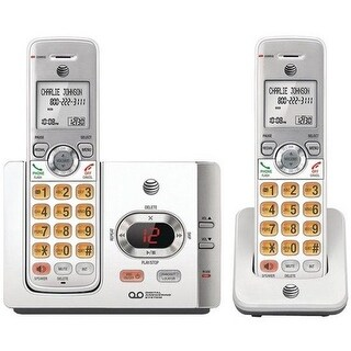 EL52215 2 Handset Answering System with Caller ID & Call Waiting &