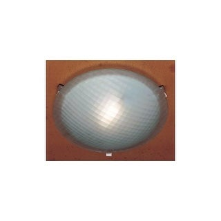 PLC Lighting PLC 6512 Alabaster Stone / Glass Flushmount Ceiling Fixture from th