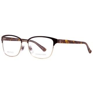 Gucci GG 4272 2CS Light Gold Brown Havana Crystal Women's Eyeglasses 54mm - Brown/Gold - 54mm-16mm-140mm