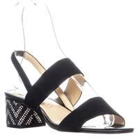 Katy Perry The Annalie Heeled Sandals, Black - 7.5 us / 37.5 eu