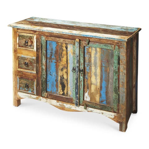 Reverb Rustic Transitional Sideboard
