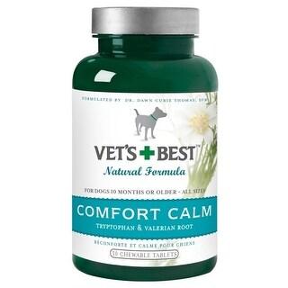Vets Best Comfort Natural Formula Calming Tablets