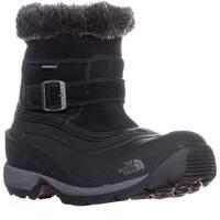 The North Face Chilkat III Pull-On Winter Boots, Black/Dark Purple - 6.5 us / 37.5 eu