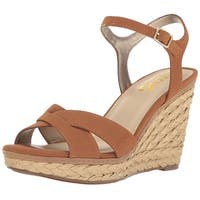 Circus by Sam Edelman Womens erica Fabric Open Toe Casual Platform Sandals