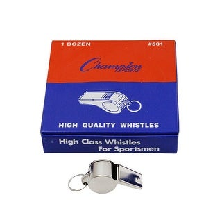 Metal Whistle Set Of 12